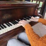 Pianiste au Parc de la Tête d'Or